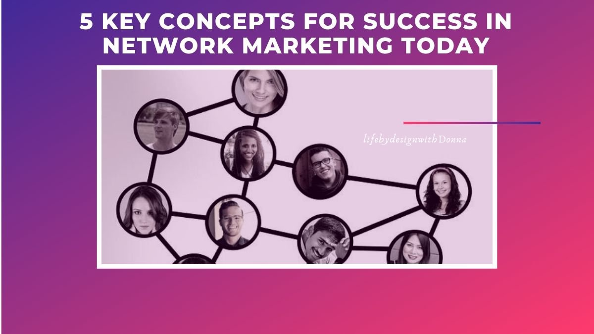 The  5 CRITICAL Concepts That TODAY'S Network Marketer MUST Embrace   For  Guaranteed SUCCESS