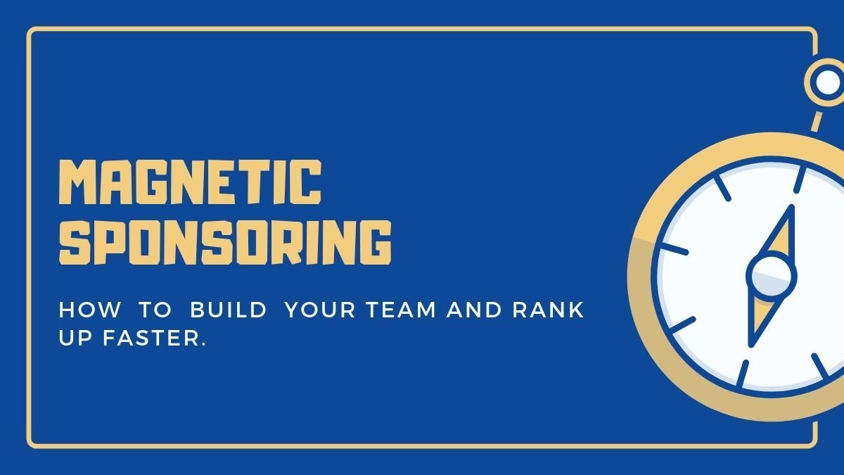 How Magnetic Sponsoring Works: Automatically Attract Endless New Prospects & Team Members. The Birth of Attraction Marketing.